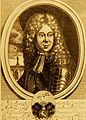 Jan Kryštof Sartorius, Portrét Matyáše Gottfrieda Wunschwitze podle obrazu J.G.Schommera, mědirytina, 1707.jpg