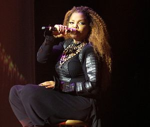 "Control (Janet Jackson album) - Jackson singing ""Let's Wait Awhile"" during her 2015-16 Unbreakable World Tour."