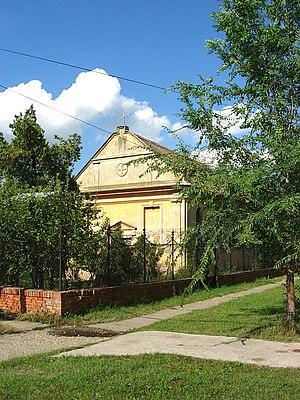 Jankov Most - The Greek Catholic chapel.