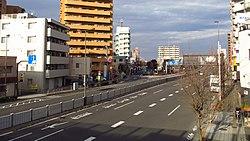 Japanese national route 6 Yotsugi 2chome Katsushika city Tokyo 20190203 152504.jpg
