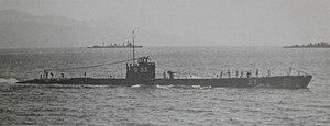 Японская подводная лодка Ро-33 в 1939 году. Jpg