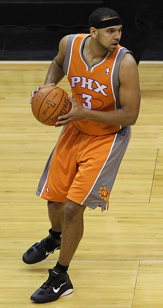 Jared Dudley - Dudley during his first stint with the Suns