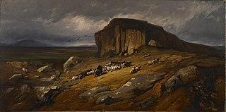 Landscape with Buffalo