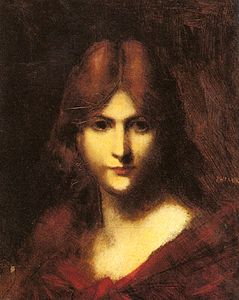 Jean Jacques Henner - A Red haired Beauty.jpg
