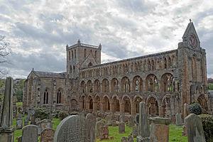 Jedburgh Abbey - Jedburgh Augustinian Abbey