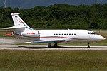 JetNetherlands Dassault Falcon 2000EX at Geneva Airport.jpg