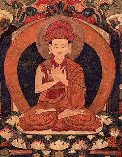 founder of the Drikung Kagyu lineage