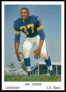 Jim Jones (American football, born 1935) American football defensive back
