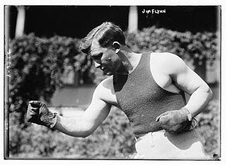 Fireman Jim Flynn American boxer