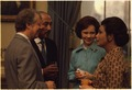 Jimmy Carter, President of Egypt Anwar Sadat, Rosalynn Carter and Mrs. Jihan Sadat. - NARA - 174261.tif