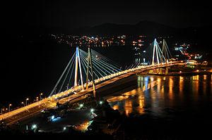 Jindo (island) - The twin Jindo Bridge