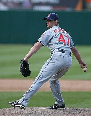 Joe Borowski (baseball) - Borowski with the Cleveland Indians in 2007