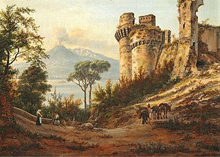 A ruin in the neighborhood of Castel Mare