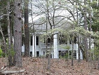 John Albert Gibert M.D. House - John Albert Gilbert House, March 2012