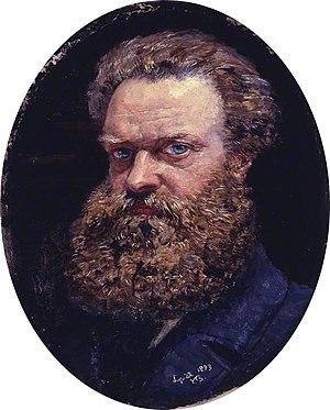 John Brett (artist) - Self portrait (1883)