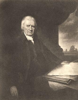 John Clerk of Eldin - Portrait of Clerk of Eldin by James Saxon, painted in 1805.