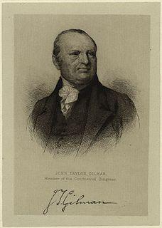 John Taylor Gilman American politician