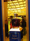 Johnnie Walker Blue Label - promotional bottle - Suvarnabhumi Airport.JPG