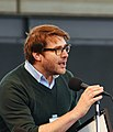 Jonathan Auxier wins the 2015 Silver Birch Fiction Award (cropped).jpg