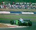 Jos Verstappen - Benetton 194 at the 1994 British Grand Prix (31697654304).jpg