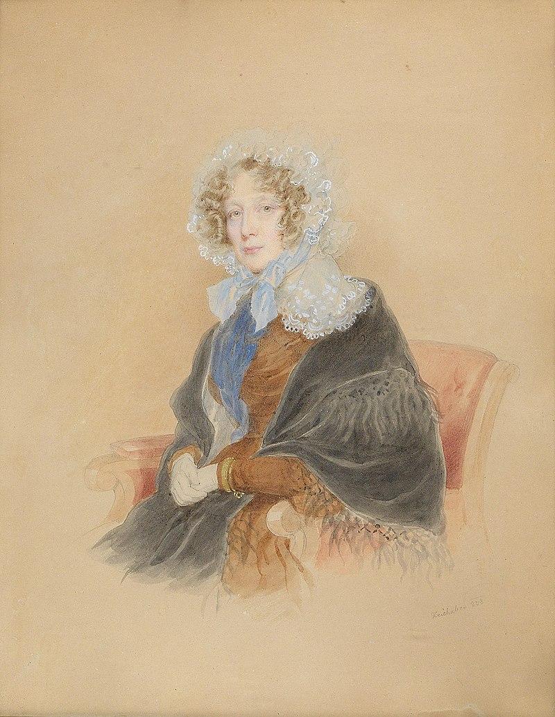 Josef Kriehuber Portrдt Fьrstin Franziska Kaunitz-Rietberg 1832.jpg