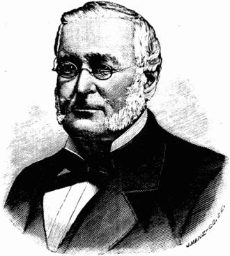Joseph Glidden - Portrait in Prairie Farmer magazine, 1884