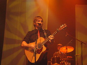 Josh Pyke - Pyke performing in 2009.
