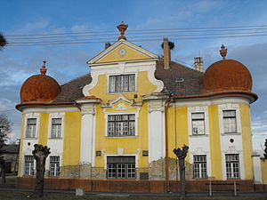 Csanádpalota - The chief constable's residence marks an important historical building in the center of Csanádpalota.