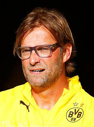 Jürgen Klopp - Klopp with Borussia Dortmund in 2014