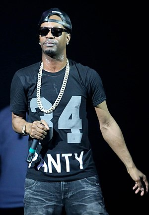 Juicy J - Juicy J performing in Breezy Point, 2014.