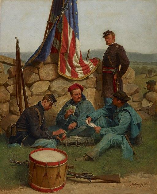 """""""A Break: Playing Cards"""" by Julian Scott"""