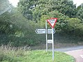 Junction with the B 651 - geograph.org.uk - 47725.jpg