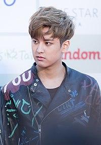 Jung Chan-woo - 2016 Gaon Chart K-pop Awards red carpet.jpg