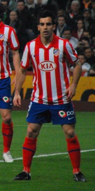 José Manuel Jurado - Jurado in action in a Madrid derby in 2010
