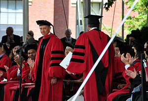 David Souter - Souter receiving an honorary degree from Harvard University on May 27, 2010