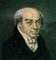 Justin Heinrich Knecht, Miniatur um 1815 (Quelle: Wikimedia)
