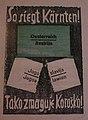 Kärntner Volksabstimmung 1920, Plakat 01.jpg