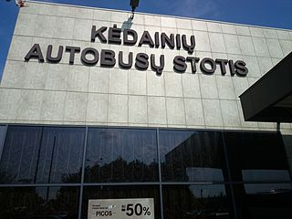Kėdainiai Bus Station Coach station in Kedainiai, Lithuania