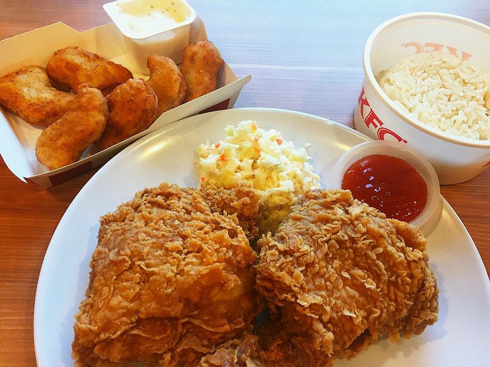 KFC Rice Set (Malaysia) and Chicken Nuggets