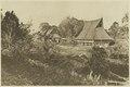 KITLV - 26891 - Kleingrothe, C.J. - Medan - Two large native houses in Kabanjahe, Karo in Batak country - circa 1905.tif