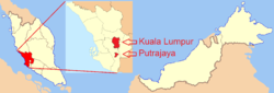 Location in Malaysia