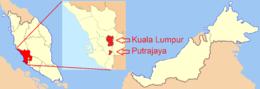 Kuala Lumpur – Localizzazione