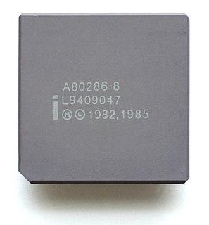 Intel 80286 microprocessor model