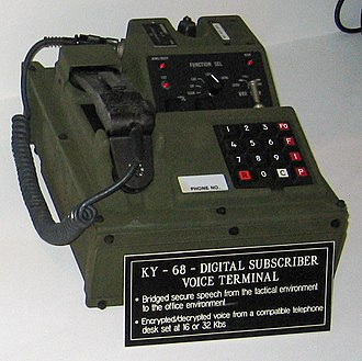 KY-68 - KY-68 tactical secure telephone