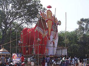 Padanilam - Image of a kettukala from Padanilam Shivarathri
