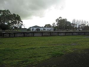 Mount Gambier railway line - Former Kalangadoo railway station building