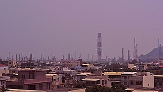 Nanzi District - Image: Kaohsiung Refinery