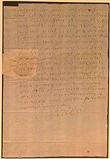 Ein eigenhändiger Brief Karls vom 2. Mai 1519 an Markgraf Kasimir von Brandenburg-Kulmbach betreffend die bevorstehende Königswahl. Nürnberg, Staatsarchiv, Ansbacher Archivalien 13834 (Quelle: Wikimedia)