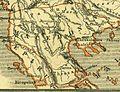 Karte aus dem Buch Römische Provinzen von Theodor Mommsen 1921 16i.jpg