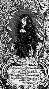 Copper engraving: Kaspar David von Stieler